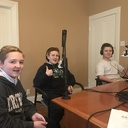 ICS Student Council Speaks with Hot In Hunterdon Chamber Radio