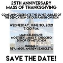 Save the Date - It's our anniversary!
