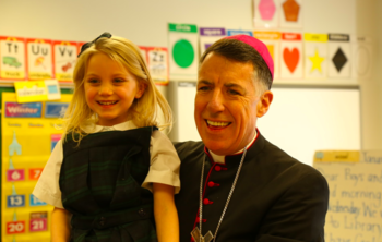 Bishop Checcio's Visit during Catholic Schools Week
