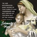 Holy Day Mass - Solemnity of Mary Mother of God
