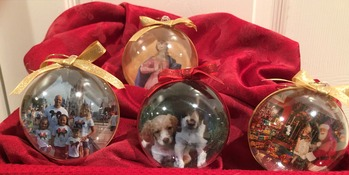 Personalized Ornaments for All Occasions!