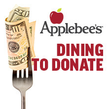 Applebees - Dining to Donate - Wednesday, January 22, 2020 11:00 a.m. - 9:00 p.m.