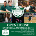 Open House - Saturday, October 19th!