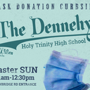 Holy Trinity Grad, Ed Dennehy ('98), Hosts Curbside Mask Donation at HTHS