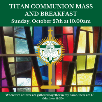 Titan Communion Breakfast - October 27th
