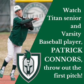 Patrick Connors ('20) To Throw Out First Pitch at Citifield!