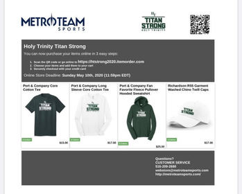 #TitanStrong Online Store