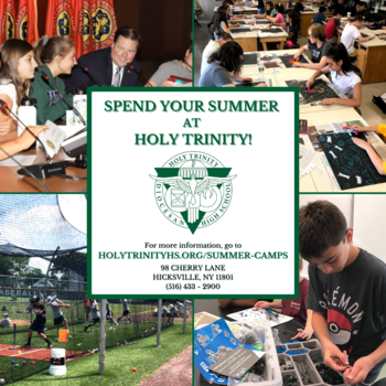 Spend your Summer at Holy Trinity!