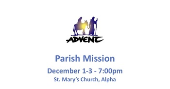 Advent Mission: December 1 - 3