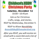 Children's Zoom Christmas Party