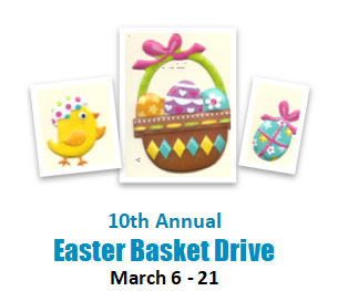 10th Annual Easter Basket Drive