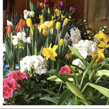Columbiettes' Easter Flower Sale