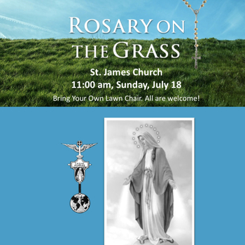 Rosary on the Grass