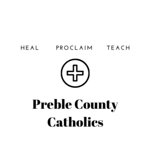 Preble County Catholic Region Logo
