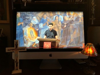 Join us for Mass on YouTube