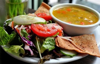 Soup and Salad Dinner