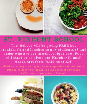Free breakfast and lunch at school