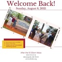Welcome Back to St. Lawrence! - August 8, 2021