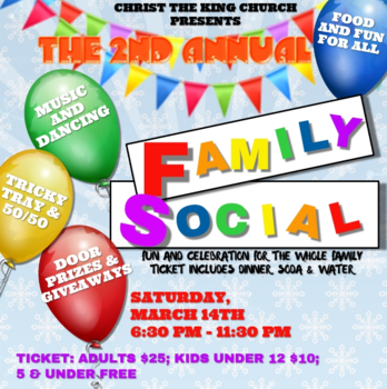 2nd Annual Family Social