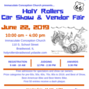 IC Holy Rollers Car and Vendor Show