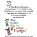 Register for St. Rose Today!