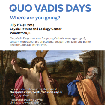 Quo Vadis Camp for Young Men