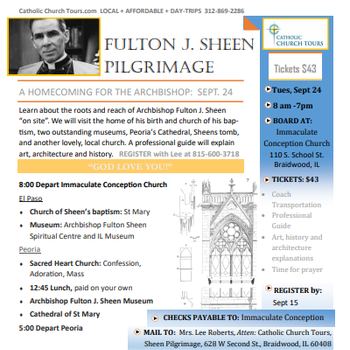 Fulton J. Sheen Pilgrimage