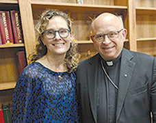 Nurse practitioner with St. Paul VI Institute speaks at diocesan high schools