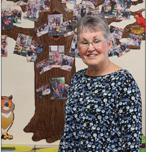 Preschool teacher recognized with award