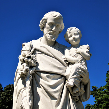 With the Saints:  St. Joseph the Protector