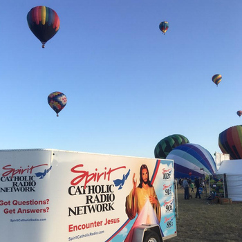 Spirit Catholic Radio celebrates 99.3 FM signal during Balloon Fest