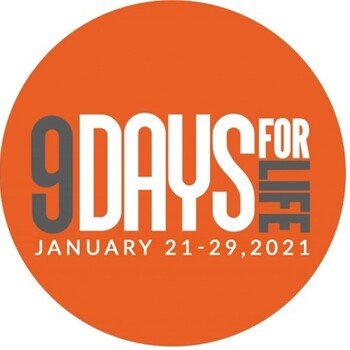 9 Days for Life Jan. 21-29