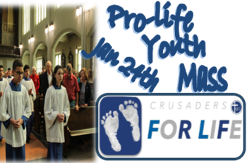 YOUTH MASS FOR LIFE
