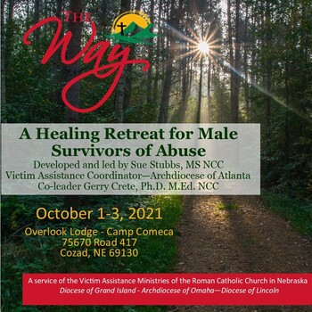 The Way:  A Healing Retreat for Male Survivors of Abuse