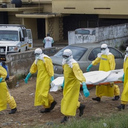Ebola burial ground in Kenema