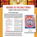 Pentecost Novenas are Available!