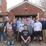 Eagle Scout Completes Renovation on Stations of the Cross at the Spiritan Center