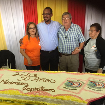 Spiritans Celebrate 50 Years of Presence and Mission in Paraguay