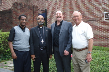 Ethiopia Bishop Varghese Thottankara Visits Houston
