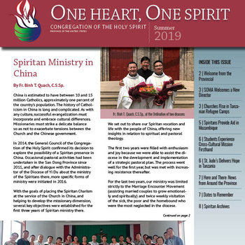 Read the NEW One Heart, One Spirit Summer Issue!
