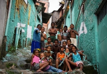 Our Man in the Favelas of Sao Paulo