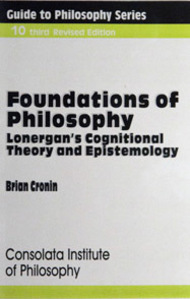 Book Brian Cronin, Foundations Of Philosophy