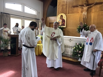 Matthew Broeren, C.S.Sp., Makes First Profession of Vows