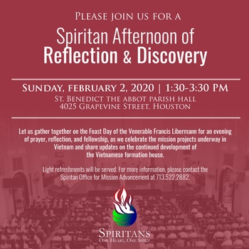 Spiritan Afternoon of Reflection & Discovery