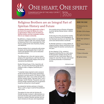 The Spring 2020 One Heart One Spirit Newsletter is here!