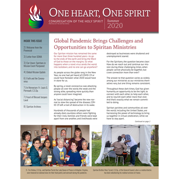 Summer One Heart, One Spirit Newsletter