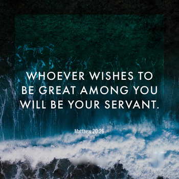 Reflection for the 29th Sunday in Ordinary Time - October 17, 2021
