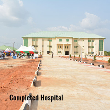 Completed hospital