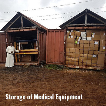 Storage of medical equipment