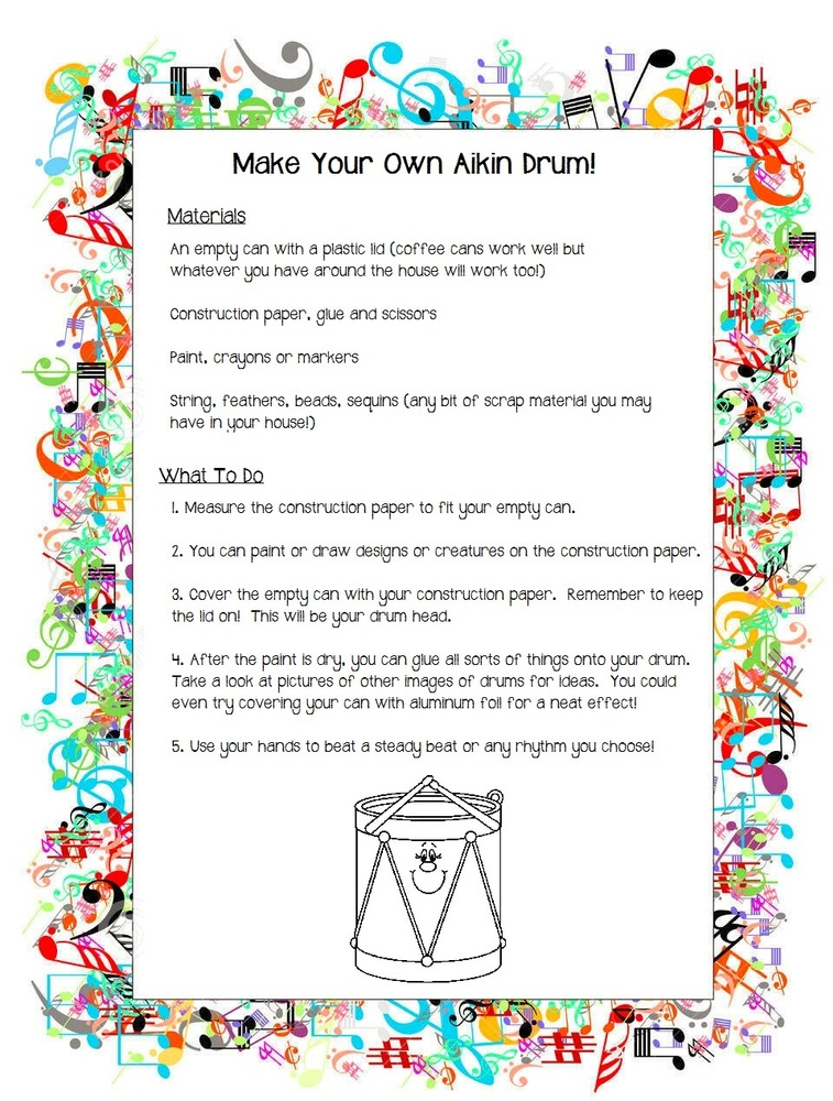 How to Make Your Own Aikin Drum